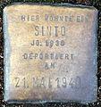Stolperstein-Sinto Jg 1936 - 127 - Koeln-cc-by-denis-apel.jpg