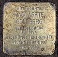 Stolperstein Bamberger Str 27 (Wilmd) Margarete Goldberg.jpg