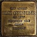 Stolperstein Göppingen, Simon Oppenheimer.jpg