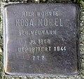 Stolperstein Hasenheide 68 (Neukö) Rosa Morel.jpg
