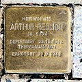 Stolperstein Hohenzollerndamm 201 (Wilmd) Arthur Redlich.jpg