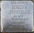 Stolperstein Köln, Benedikt Schmittmann.jpg