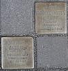 Stolpersteine für Emanuel Kaletta und Jacob Ries