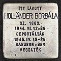 Stolperstein für Borbala Holländer (Kiskunhalas).jpg