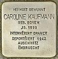 Stolperstein für Caroline Kaufmann (Differdingen).jpg