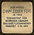 Stolperstein für Chaim Jossek Fuks (Cottbus).jpg