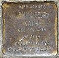Stolpersteine Köln, Emma Selma Kahn (Schaevenstraße 4).jpg
