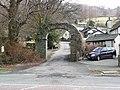 Stone arch near Hollens Farm, Grasmere - geograph.org.uk - 1767213.jpg