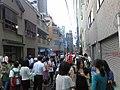 Street beer garden event in Kanda-Myōjin-shita, Akihabara (アキバの神田明神下あたりの裏通りが占拠されてストリートビ アガーデン発生中 #akiba) 2010-07-23 17.59.00 by yuiseki aoba.jpg