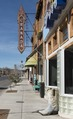 Street scene with sign for Granada movie theater in downtown Alpine, Texas LCCN2014631063.tif