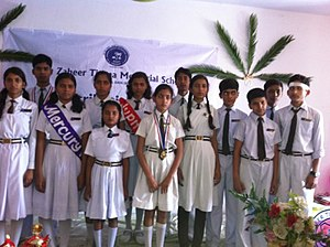 Student council - Members of a student council