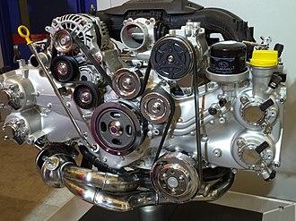 Subaru FA engine - Image: Subaru BRZ engine (20413082204)
