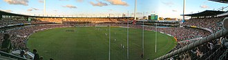 Western Derby - Image: Subiaco Oval panorama