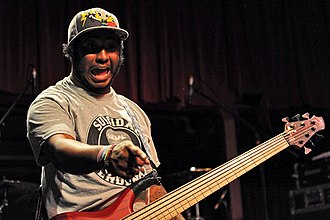 Suicidal Tendencies - Stephen Bruner was the bassist for Suicidal Tendencies from 2002 to 2011, although he did perform on their eleventh studio album 13, which was released two years after his departure from the band.