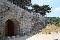 Sukjeongmun and Fortress Wall, Seoul, Korea.jpg