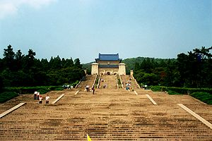 Sun Yat-sen Mausoleum - Mausoleum of Dr. Sun Yat-Sen.