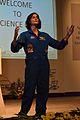 Sunita Lyn Williams - Science City - Kolkata 2013-04-02 5899.JPG
