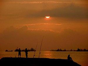 East Coast Park - Sunrise at East Coast Park, Singapore