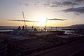 Sunset - Harbour of Genoa seen from Piazzale di San Francesco D'Assisi - Genoa 2014 (3).jpg