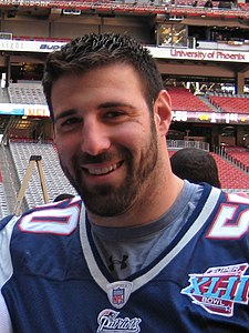 Super Bowl 2008 - XLII with Mike Vrabel (cropped).JPG