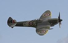Uno Spitfire Mk.XVI a Duxford, settembre 2006.