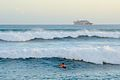 Surfing during the South swell (8933020375).jpg