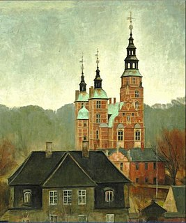 Svend Hammershøi Danish painter and ceramist
