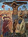 Svetitskhoveli fresco. Crucifixion.jpg