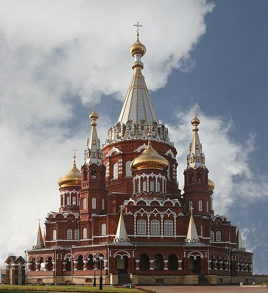 File:Svyato Mihailovsky Cathedral Izhevsk Russia Richard Bartz-edit.jpg