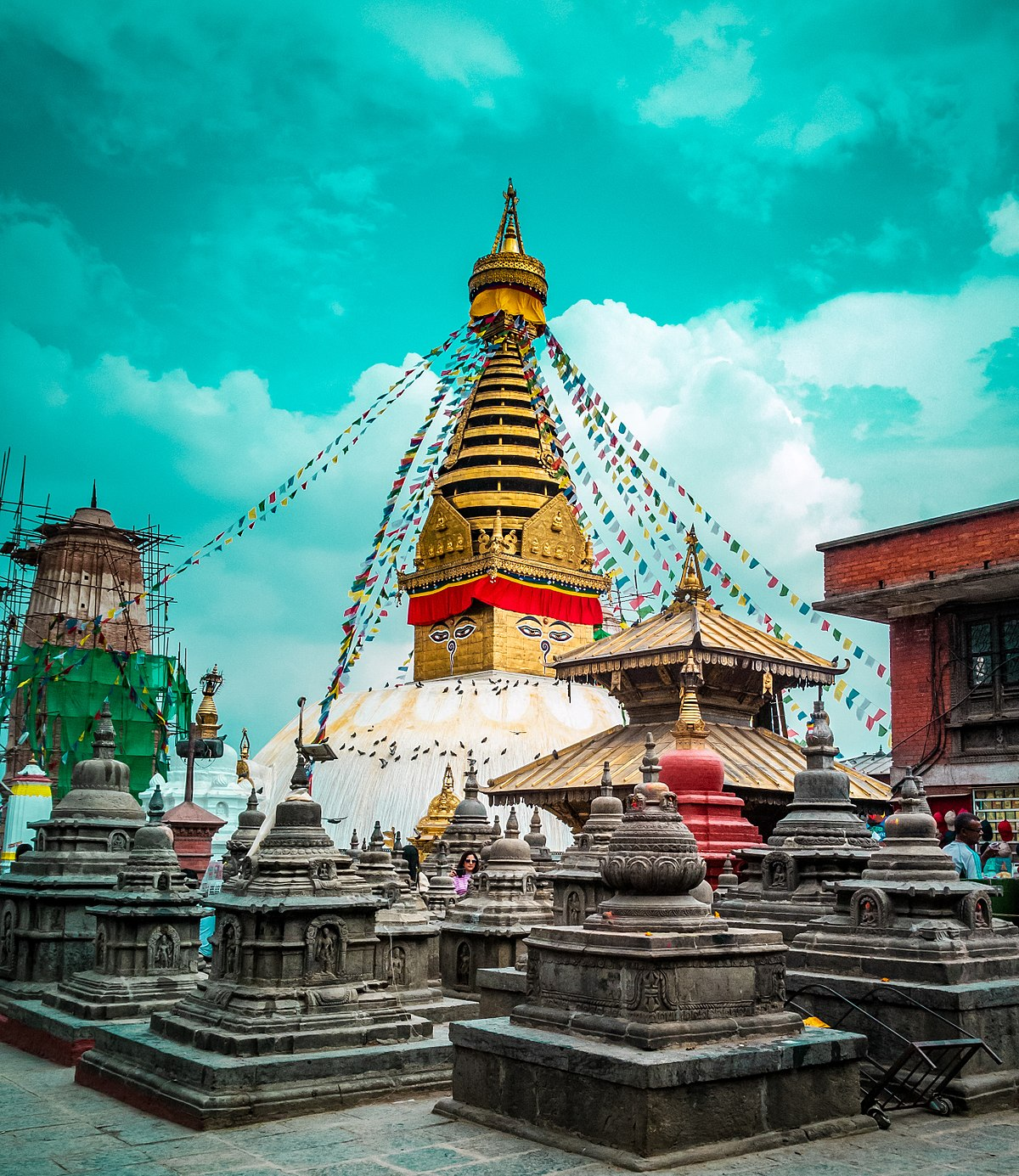 Information Of Swayambhunath In Nepal, Check Out Information Of Swayambhunath In Nepal : CnTRAVEL