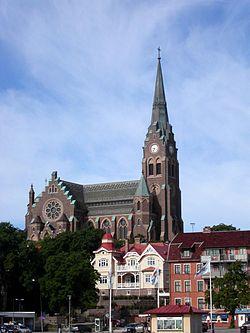 Sweden-Lysekils kyrka-June 2005.jpg