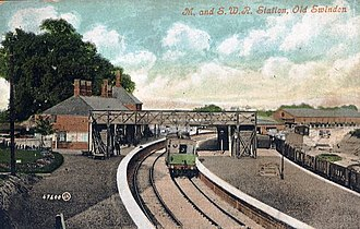 Swindon Town railway station - Image: Swindon (MSWJ) Railway Station