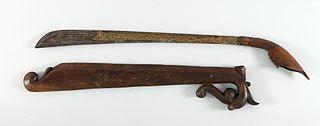 sword of Malay culture of Sumatra