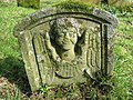 Symbolic headstone at Unthank - geograph.org.uk - 736829.jpg