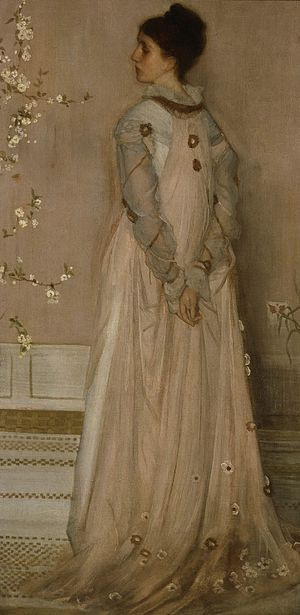 Frederick Richards Leyland - Symphony in Flesh Colour and Pink: Portrait of Frances Leyland, 1871–1874, by James McNeill Whistler