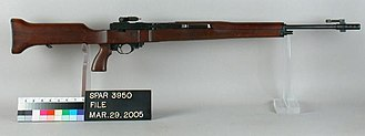 M14 rifle - T25 prototype
