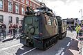 THE EASTER SUNDAY PARADE - SOME MILITARY HARDWARE USED BY THE IRISH ARMY (CELEBRATING THE EASTER 1916 RISING)-112962 (26046308406).jpg