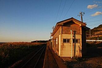 Todoroki Station (Aomori) - Todoroki Station in September 2008