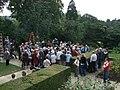 TV Filming at Bodnant Garden - geograph.org.uk - 1426705.jpg