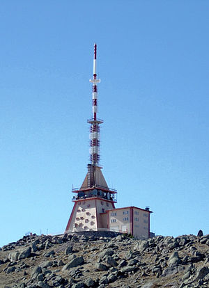 Transmitter station - A TV transmitter station in Karaman, Turkey