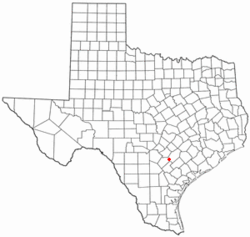 Location of Nixon, Texas