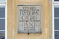 Tablica Fryderyk Chopin Pałac Czapskich 05.jpg