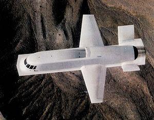 Northrop Tacit Blue - Image: Tacit Blue in flight