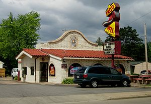 Original design for Taco Bell restaurants