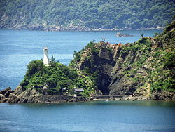 Tagarasu-ko myojinhana lighthouse(long).jpg