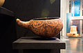 Taha wai (Maori water vessel) on display at Te Papa.jpg