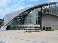Taiwan HighSpeedRail HsinChu Station 3.JPG