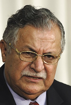 2008 in Iraq - President Jalal Talabani in 2005