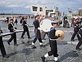 Tameside Sea Cadets Marching Band at Mann Island, Liverpool.jpg