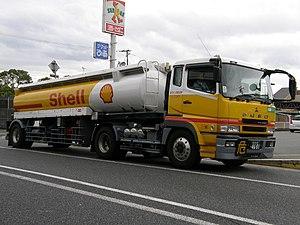 Tank truck - Japanese tank truck